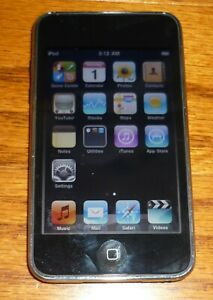 Apple Ipod Touch, 2nd generation, 8 GB, Model # A1288, TESTED, Empty, Guaranteed