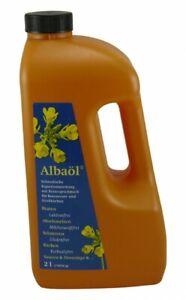(7,65€/1l) Albaöl Rapsöl Buttergeschmack Alba Öl Butteröl 2 Liter