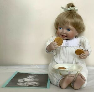 "(SHP) Ashton Drake doll ""Enjoying a snack"""