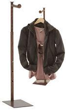 Countertop Display Stand Rack Clothing Handbag Copper Adjustable 24 36 Retail
