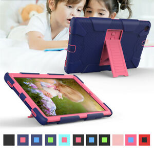 "For Samsung Galaxy Tab A 10.1"" T510 Hybrid Silicone Rugged Protective Case Cover"