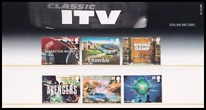 2005 GB Classic ITV Royal Mail Presentation Pack No.375
