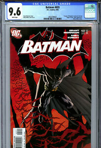 Batman #655 (2006) DC CGC 9.6 White 1st Appearance of Damian Wayne in Cameo!