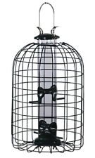Audubon Wild Bird 2 lb. Wire/Plastic Caged Tube Seed Feeder with squirrel guard