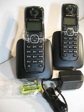 New Motorola L603M DECT 6.0 Digital Phone + Adapter & Base + Extra Phone No Batt