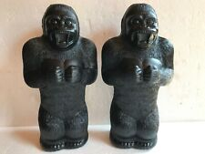 "Blow Mold Plastic King Kong Gorilla Bank Union Products 17"" Renzi Mold"