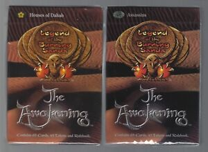 Legend of the Burning Sands starter decks X2 Factory Sealed