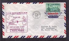 Pan American FAM 18 - Washington D.C. to Paris, France
