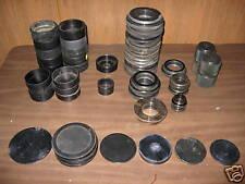 Various J&L Optical Comparator Lens & Alignment Discs.