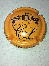 Capsule de champagne CHOPIN-OUY 11a. Noir contour orange