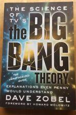 Dave Zobel-The Big Bang Theory -SIGNED PB 2015 1st Ed  Unread