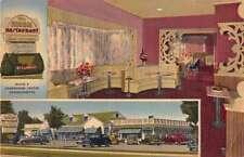 framingham massachusetts maridor restaurant antik ansichtskarte j54155