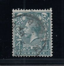 """Great Britain, Sg Spec. N23e, used """"Break in O Above Four"""" variety"""