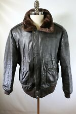 C2667 VTG WEARGUARD G-1 Flight Bomber Leather Jacket Size 48