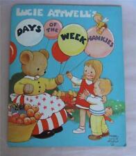 Mabel Lucie Attwell's Days of the Week Hankies complete set in original folder