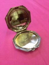 Antique Silver Compact and Mirror - Birmingham 1913 Maker Crisford and Norris