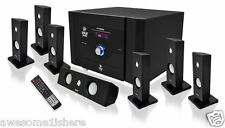 7.1 Channel Home Theater System Satellite Speakers Subwoofer Bluetooth Sound TV