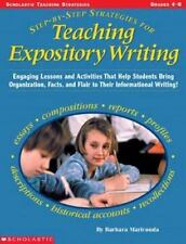 Step-by-Step Strategies for Teaching Expository Writing : Engaging Lessons...