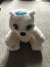 barbie shiver cuddly polar bear that shivers and glows when hugged