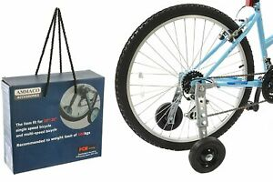 "Adult Bike Stabilisers Heavy Duty Special Need Disability Training Wheels 20-26"""