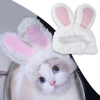 Funny Cat Bunny Rabbit Ears Hat Cap Pet Cosplay Costumes for Cat Small Dog Party