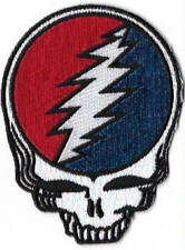Grateful Dead Steal Your Face Patch / Iron On Appliqué, Officially Licensed
