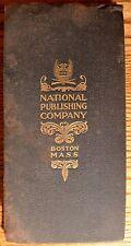 Antique National Publishing Company 1902 New York Rail Road Folding Map Book!!