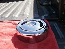 Chrome Round Bobbed Style 8  Air Cleaner Cover,for Harley Davidson