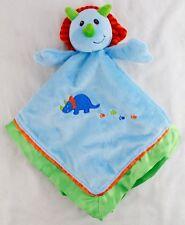 MARY MEYER BABY Blue Green DINOSAUR Lovey Security Blanket Okey Dokey Dino