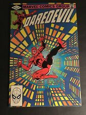 Daredevil #186 Stilt Man By Frank Miller 9.8 Nm-Mt White Pages