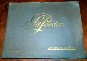 Le Lit Pardon. French Bedroom Furniture, Baby Carriages 1928 Catalog, Pricelist