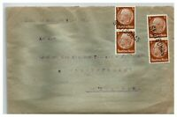 Germany 1939 Silesia Occupation Cover / Provisional Cancel / Early - Z13900