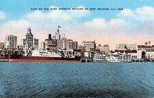 Postcard Skyline New Orleans Louisiana