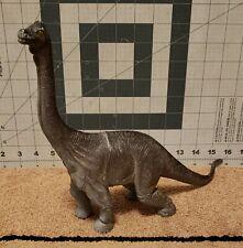 2001 Brown Brachiosaurus Dinosaur in Toy