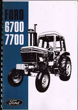 """Ford """"6700 and 7700"""" Tractor Operator Instruction Manual"""