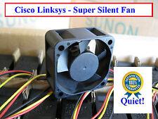 Quiet! Cisco Linksys SRW2048 Replacement Fan (New) Sunon MagLev 12dBA Noise