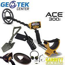 Metal Detector Garrett Ace 300i + Vanga + Pinpointer GT King