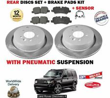 para Land Rover Discovery 2.7 3.0 TD 2009- > FRENO TRASERO 350mm Juego de Discos