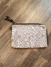 Thirty One Wallet Clutch Animal Print Brown