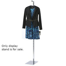 Adjustable Steel Display Stand 74 Inches Height for Fashion Forms
