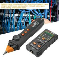New Network Lan Ethernet Telephone Cable Tester Wire T racker Rj45 Rj11 Finder