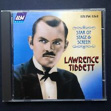 LAWRENCE TIBBETT CD Star, Stage & Screen Soundtracks Original Recordings 1926-35