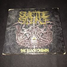 SUICIDE SILENCE The Black Crown CD/DVD LIMITED EDITION Metallica Slayer Megadeth