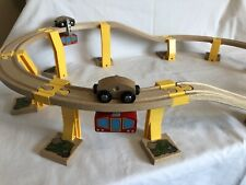 Brio Railway/Wooden Train Sets Sky Train Monorail With 2x Cable Cars