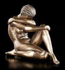 Weibliche Akt Figur - Melanie bronziert - Veronese Statue nackte Frau Sexy