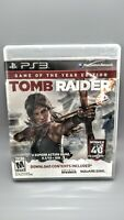 Tomb Raider Game Of The Year Edition (Sony Playstation 3) *Complete*