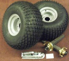 TRAILER KIT UNBRAKED 22X11.00-8 WHEELS & TYRES COUPLING HEAD STUB AXLES & HUBS