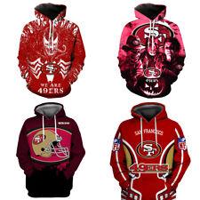San Francisco 49ers Venom Hoodie Halloween 3D Hooded Sweatshirt Jacket Pullover
