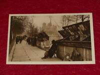 Yvon - Paris Strolling Booksellers Wharf Tournelle 1919 Helio 1e Series - 8 CPA