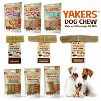 Yakers Dog Natural Chews & Treats Made from Himalayan Yaks Milk! Long Lasting!
